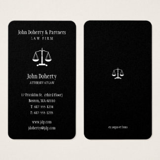 Attorney at Law   Elegant Business Card