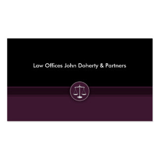 Attorney at Law Pack Of Standard Business Cards