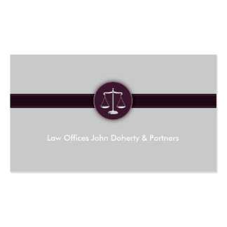 Attorney at Law | Perfect Modern Lawyer Pack Of Standard Business Cards