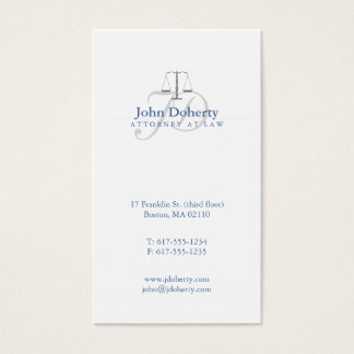 Attorney at Law | Scales of Justice