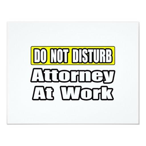 Attorney At Work Invite