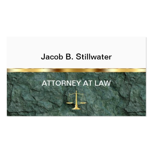 Attorney Business Cards Business Cards