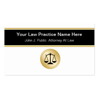 Attorney Business Cards