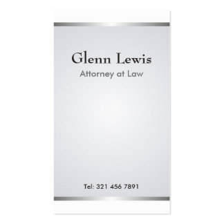 Attorney - Business Cards