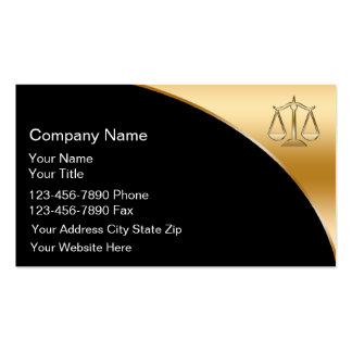 Attorney Business Cards Fixed