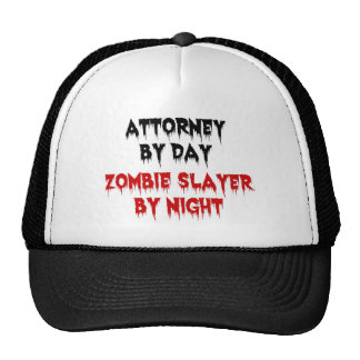 Attorney by Day Zombie Slayer by Night Mesh Hat