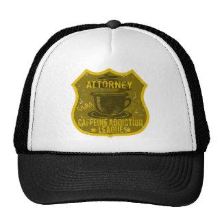 Attorney Caffeine Addiction League Cap
