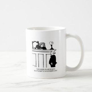 Attorney Cartoon 5496 Coffee Mug