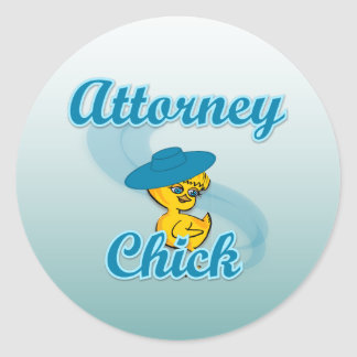 Attorney Chick #3 Stickers