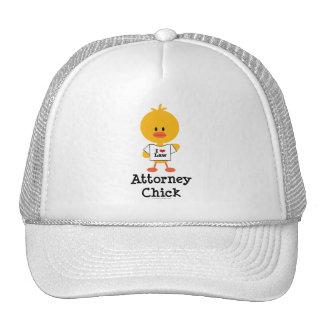 Attorney Chick Hat