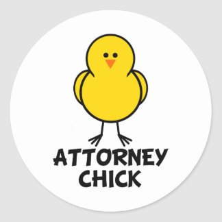 Attorney Chick Sticker