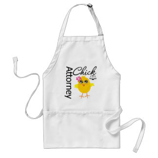 Attorney Chick v1 Adult Apron
