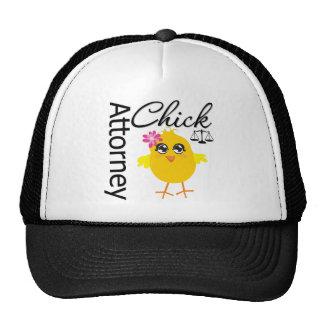 Attorney Chick v1 Trucker Hat
