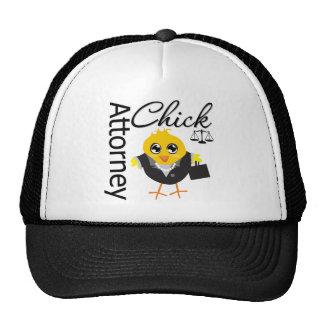 Attorney Chick v2 Trucker Hat