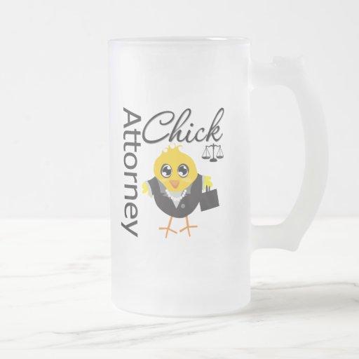 Attorney Chick v2 Mug