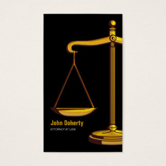 Attorney | Classy Scales of Justice