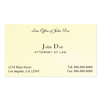 Attorney Clean - Law Office Business Card Template