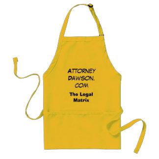Attorney Dawson.com, The Legal Matrix Standard Apron