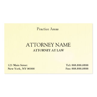 Attorney Elegant Clean Business Card Templates
