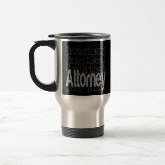 Attorney Extraordinaire Stainless Steel Travel Mug