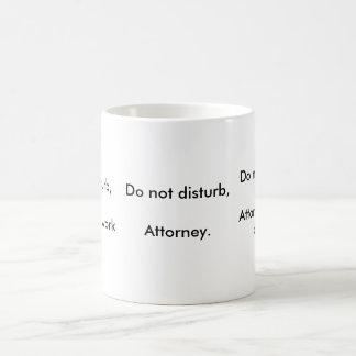 Attorney funnies basic white mug