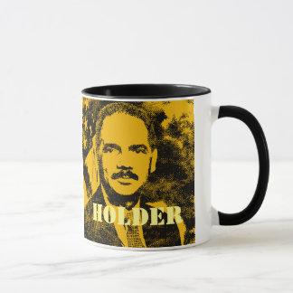 Attorney General Eric Holder Pop Art Mug