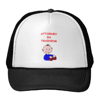 ATTORNEY MESH HATS