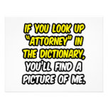 Attorney In Dictionary...My Picture Custom Invitation