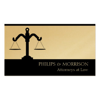 Attorney Lawyer Counselor Law Firm Office Scale Business Cards