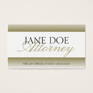 Attorney Lawyer Gold Fade - Available Letterhead -
