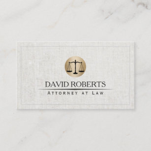 Student business cards zazzle au attorney lawyer gold law scale logo elegant linen business card reheart Image collections