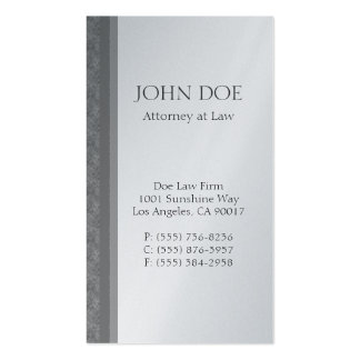 Attorney Lawyer Law Firm Marble Striped Edge Business Card Templates