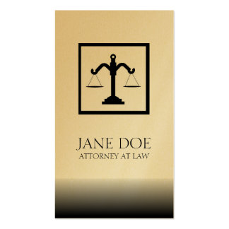 Attorney Lawyer Law Firm Office Scale Fade Business Card Templates
