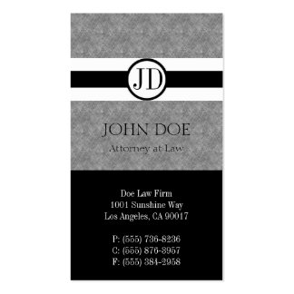 Attorney Lawyer Law Firm Pendant Blue Marble Black Business Card Templates