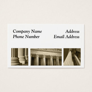 Attorney Lawyer Legal Business Card