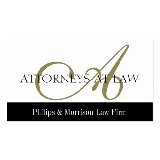 Attorney Lawyer Legal Counselor Law Firm Office Business Card Templates