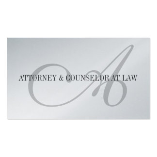 Attorney Lawyer Legal Counselor Law Firm Office Business Card