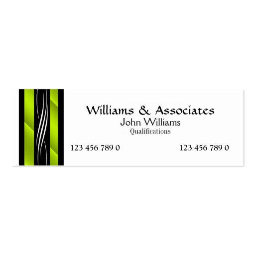 Attorney Lawyer monogram green Business Card Templates