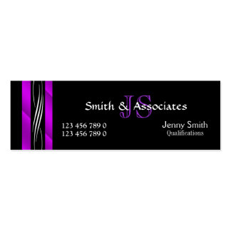 Attorney Lawyer monogram purple Business Card Templates