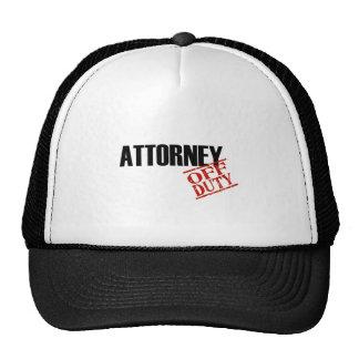 Attorney Light Cap