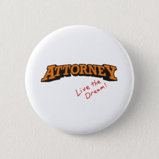 Attorney / Live 6 Cm Round Badge