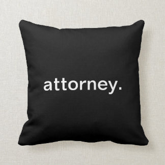 Attorney Pillow