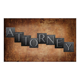 Attorney Poster