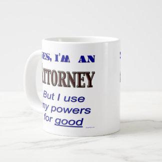 Attorney Powers for Good Jumbo Coffee Mug
