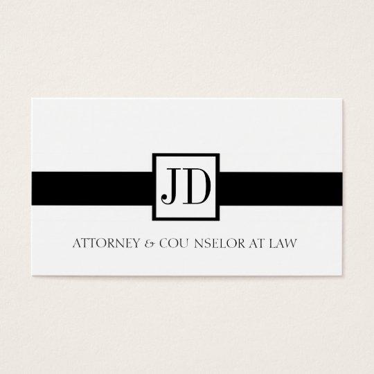 Attorney Ribbon Square - Available Letterhead -