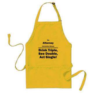Attorney Standard Apron