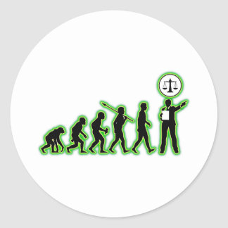 Attorney Classic Round Sticker