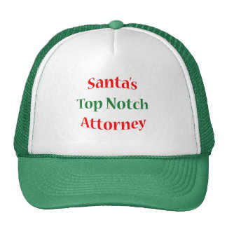 Attorney Top Notch Cap