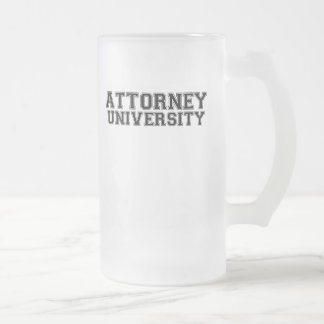 Attorney University Coffee Mug