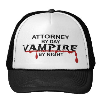 Attorney Vampire by Night Trucker Hat